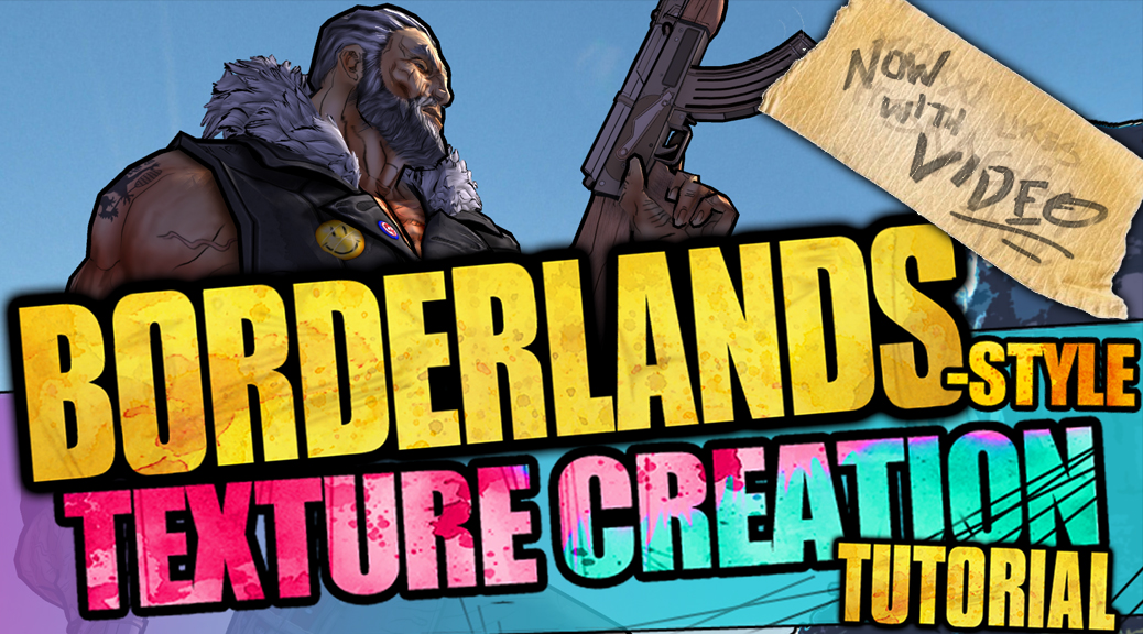 How to make Borderlands style art