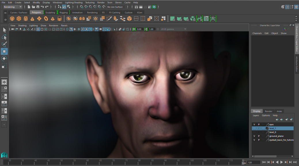 Maya 2016 EYES tutorial: EASY EYES!