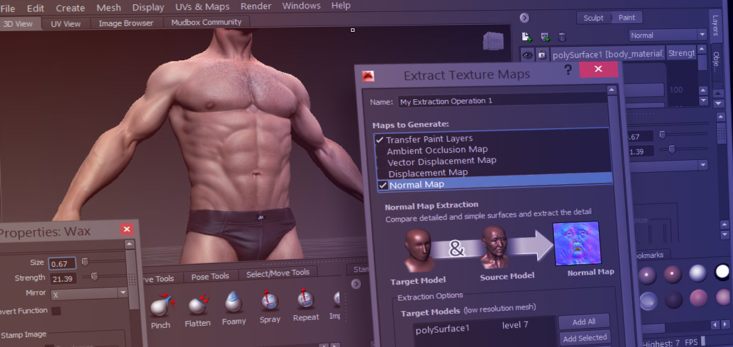 mudbox tips for beginners