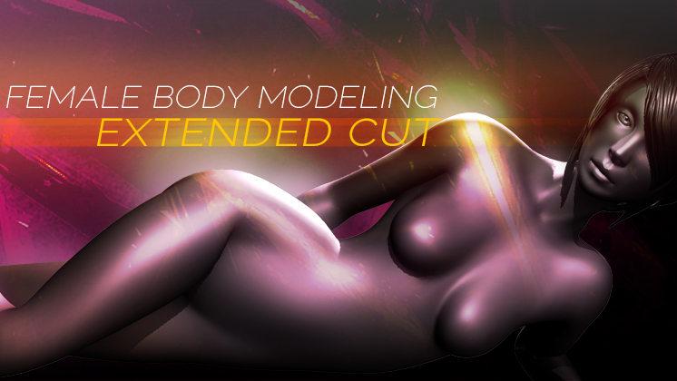 female body modeling extended cut splash