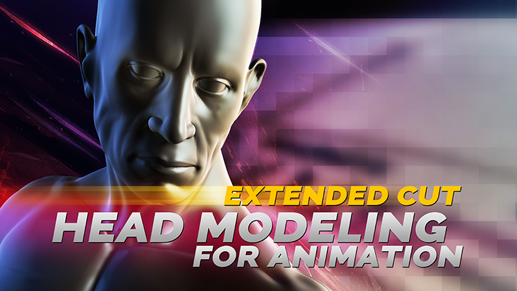 maya bodybuilder character HEAD modeling video download icon