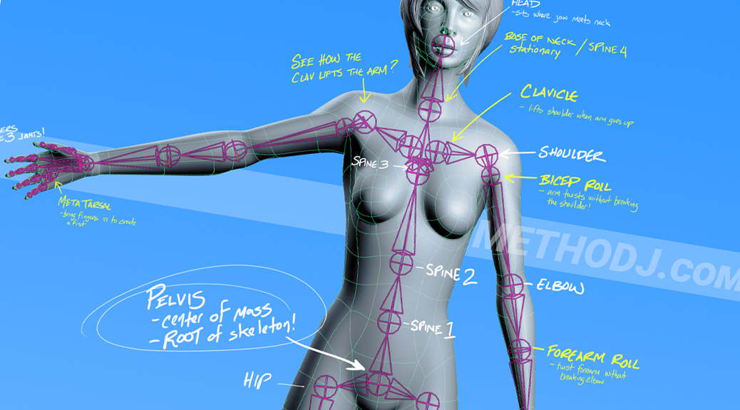 how to rig in maya joints and skinning splash